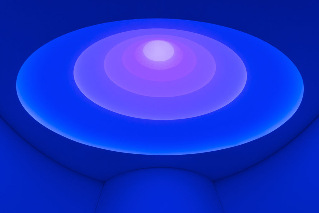 James Turrell Exhibit (2013) NY
