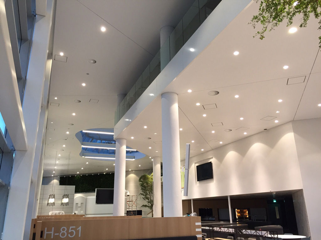 Heerema Headquarters Leiden Netherlands Newmat Stretch Ceiling Amp Wall Systems