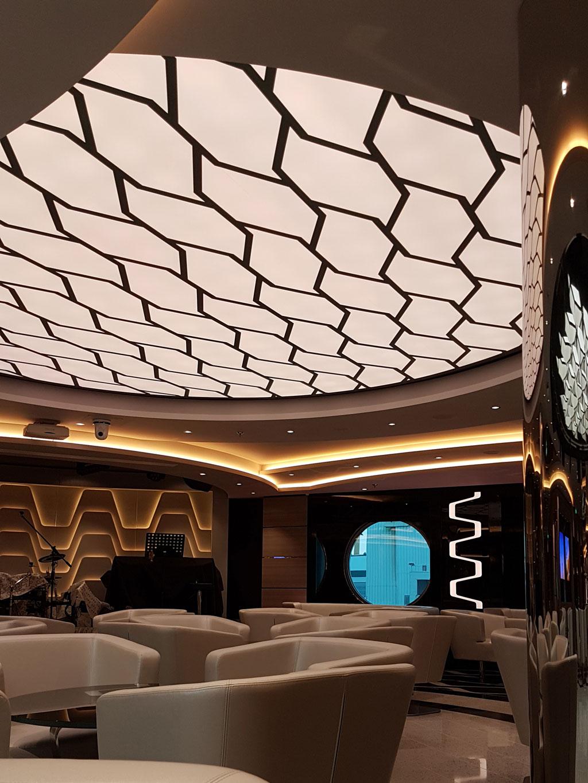 meraviglia cruise ship 2017 nantes france plafonds et murs tendus newmat. Black Bedroom Furniture Sets. Home Design Ideas