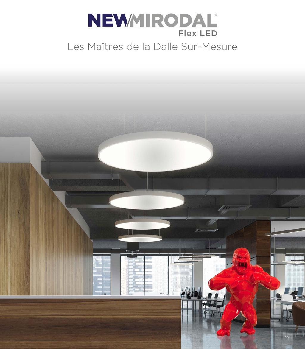 Les Maîtres de la Dalle Flex LED Sur-Mesure