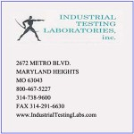 Industrial Testing Laboratories Inc