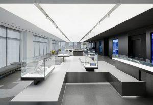 Salle d'exposition Biotronik à NYC