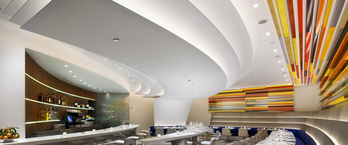 The Wright Restaurante en el Museo de Guggenheim