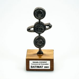 SILVER Medal - Innovation Contest - BATIMAT 2001