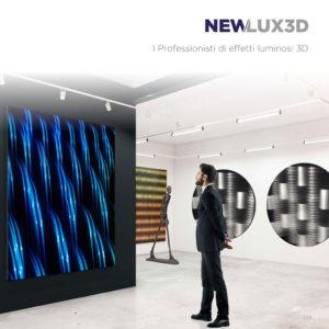 Copertina del catalogo NEW/LUX3D